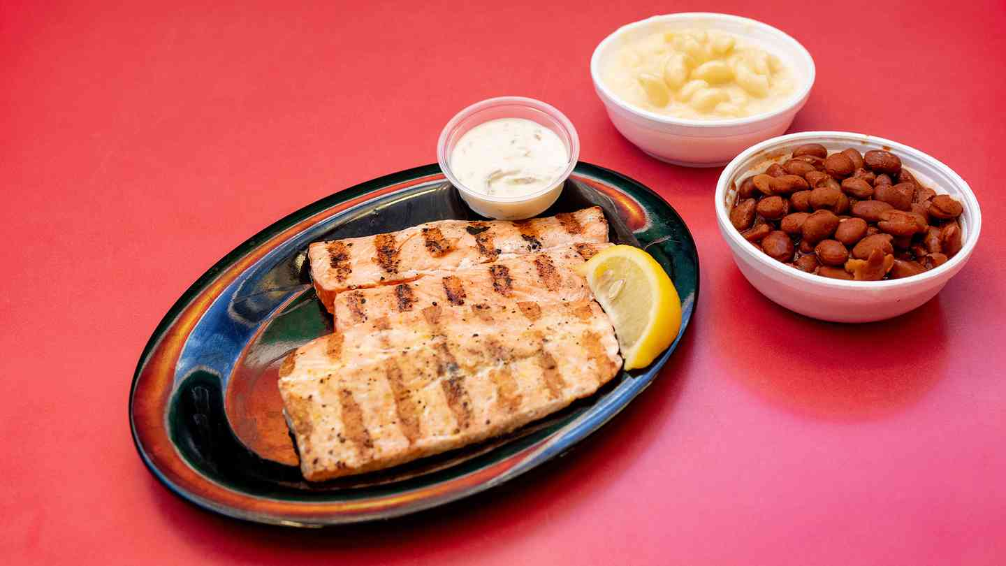 Salmon Meal - Lunch Special