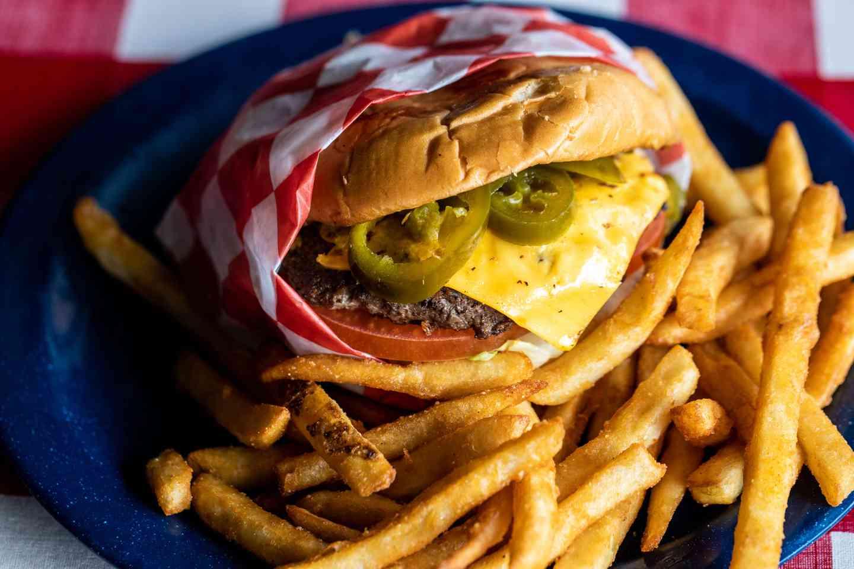 Jalapeño Cheeseburger
