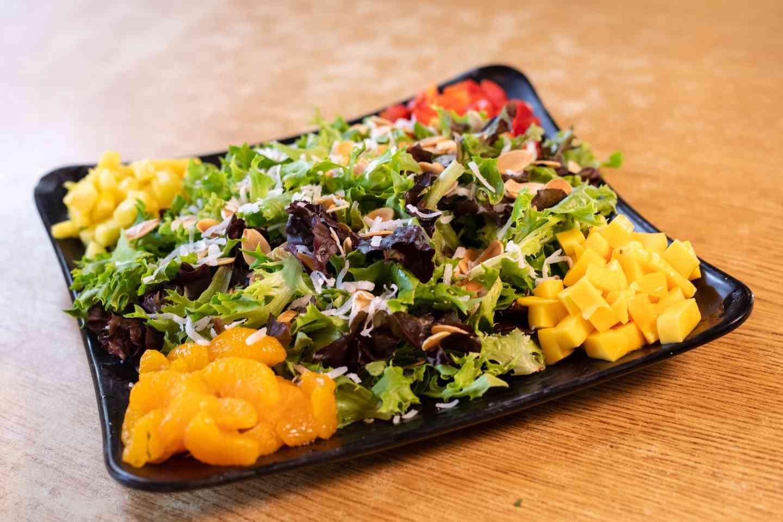 Caribbean Mango Island Salad