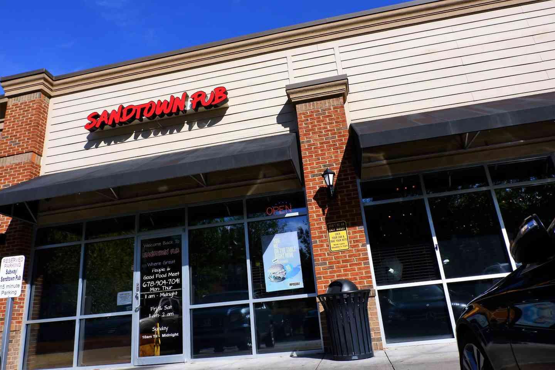 exterior shot of restaurant