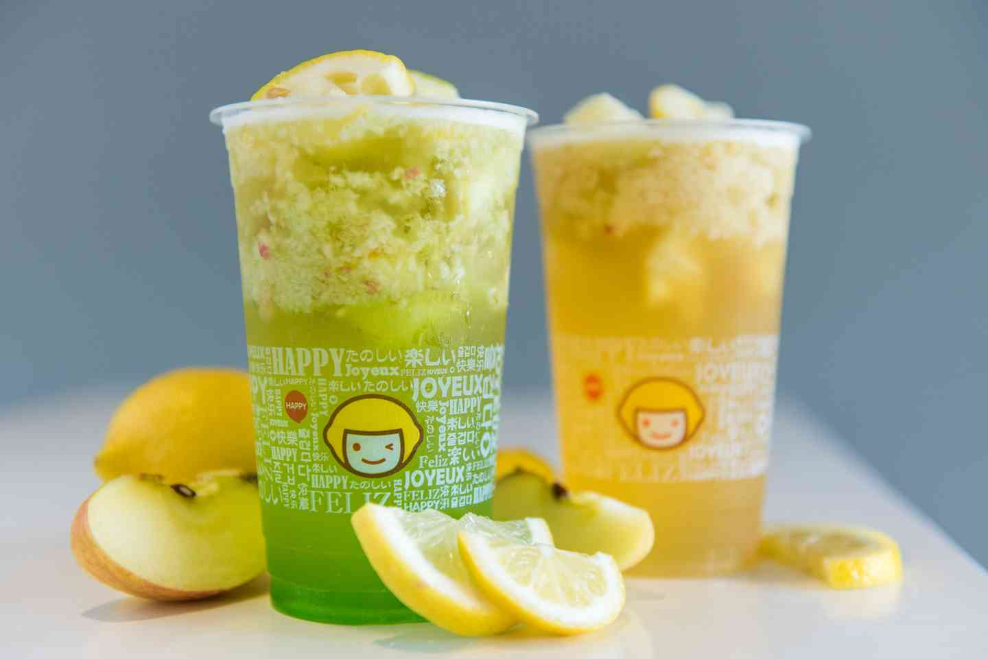 F6 Apple Lemon Green Tea