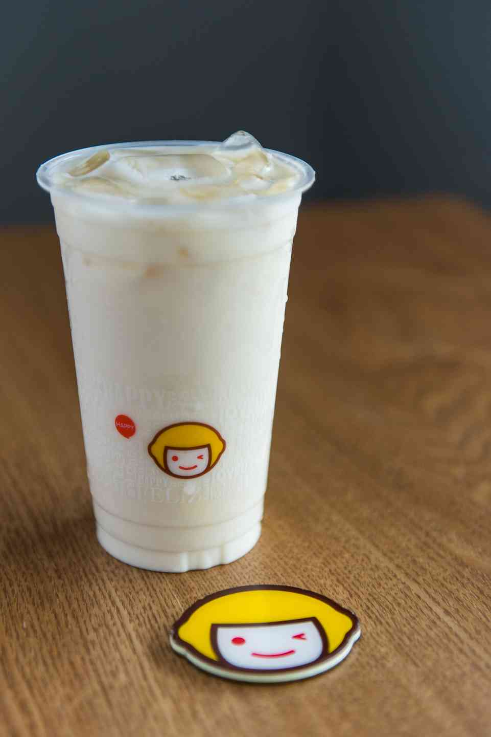 A6 Jasmine Green Milk Tea