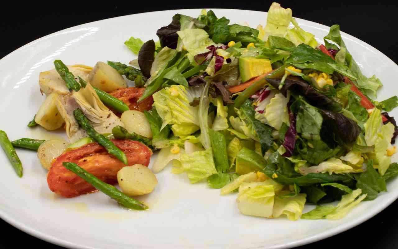 Grilled Market Salad