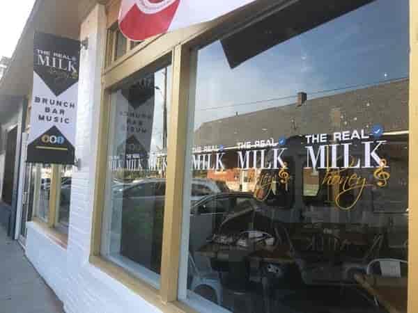 Exterior Milk and Honey