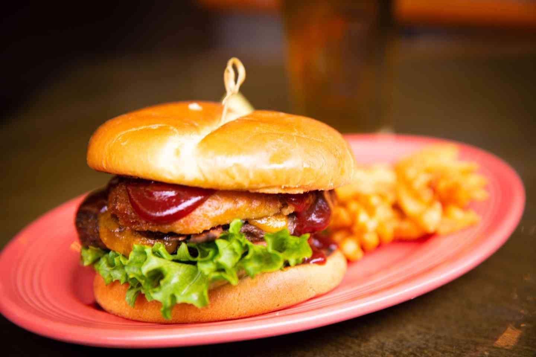 Bacon Western Cheeseburger
