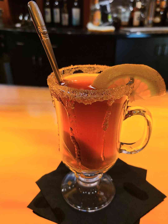 Hot Apple Rum Cider