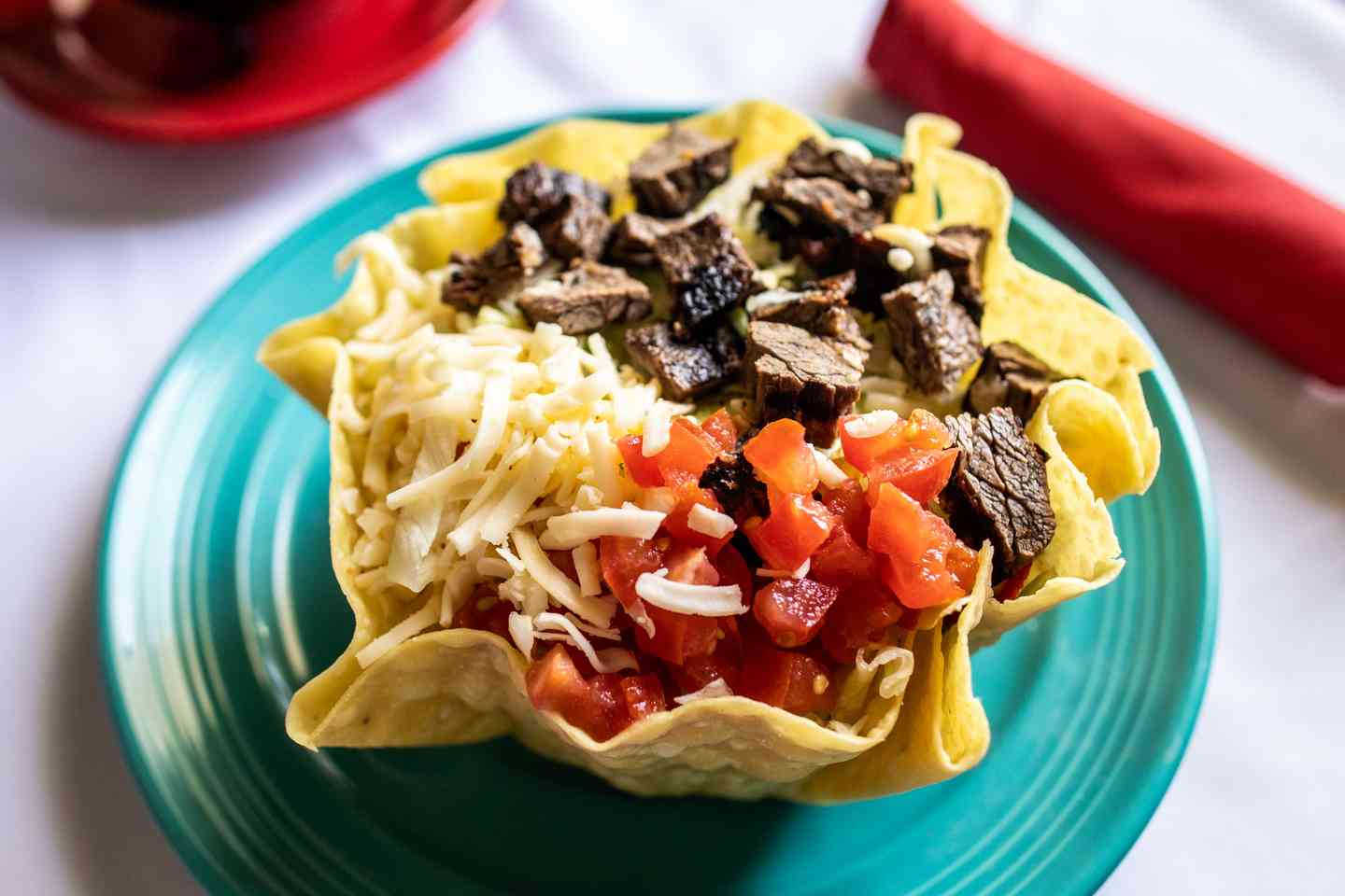 Taco Salad: Chicken or Beef