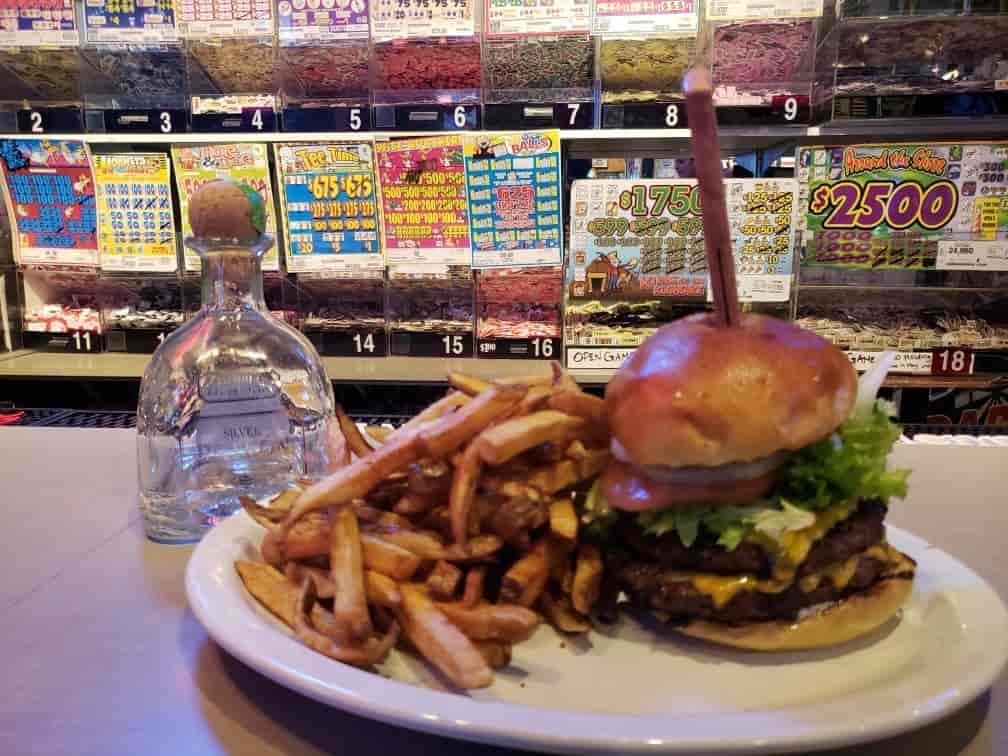 fries burger