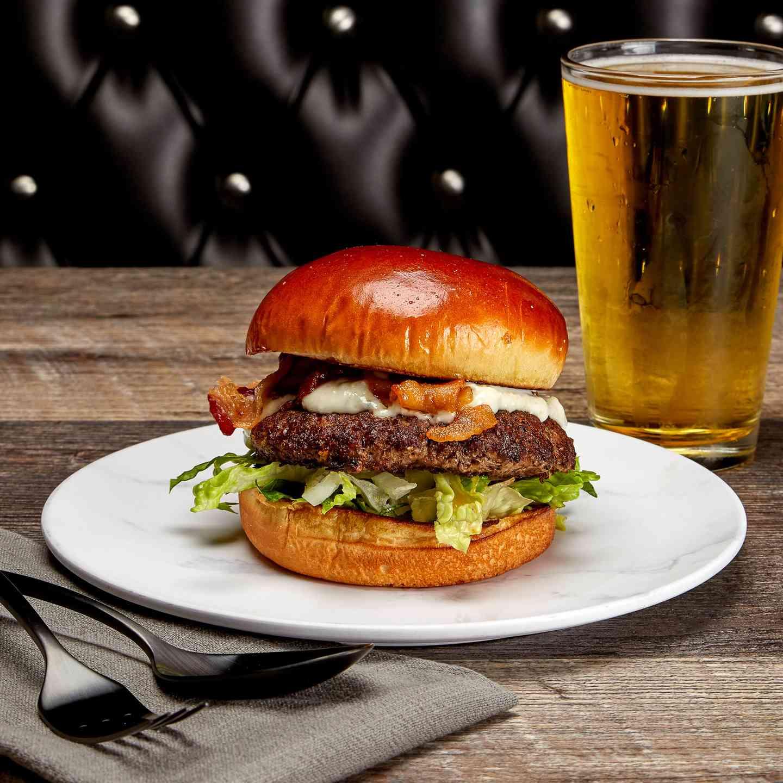 Dodger Blue Burger