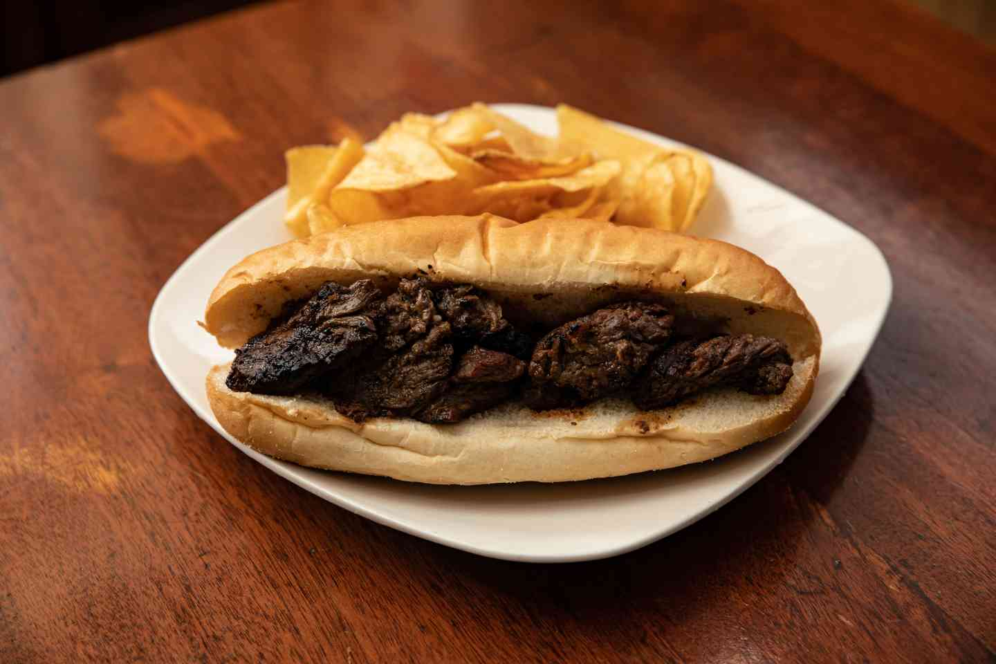 Grilled Steak Tip Sub