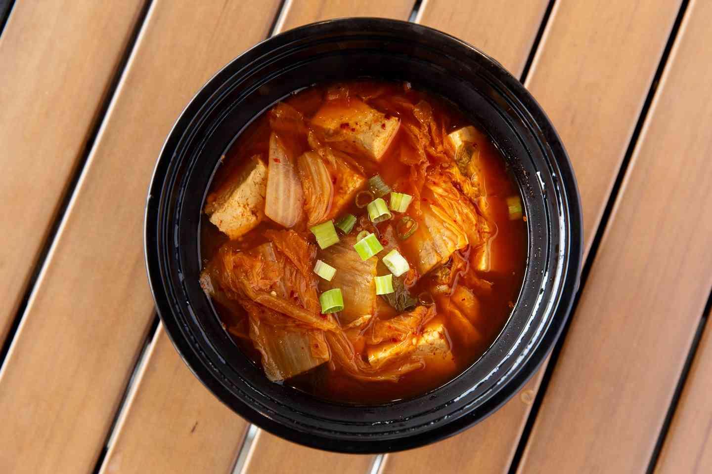 Kimchi Tofu Soup