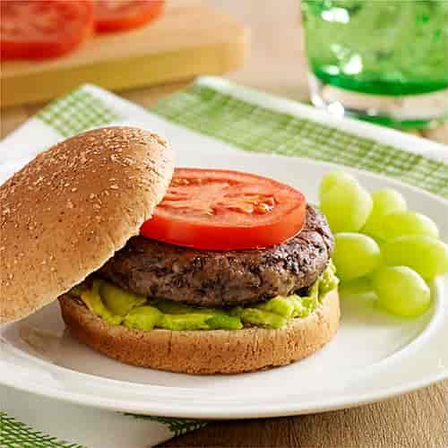 Veggie Black Bean Burger for Kids