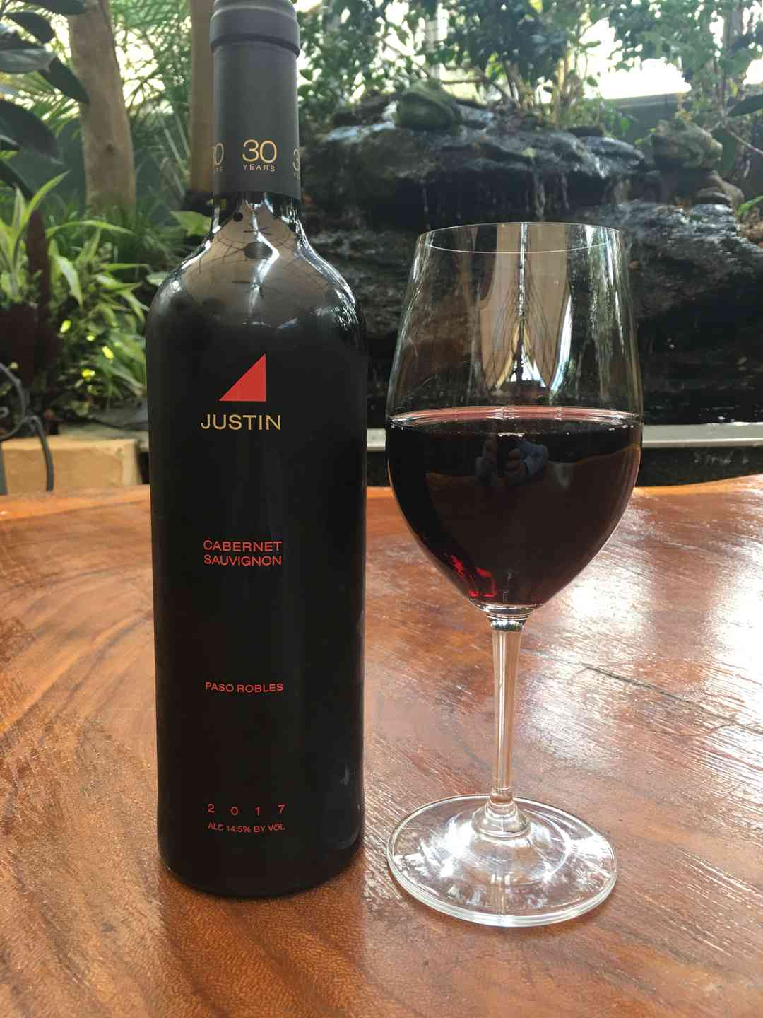 2017 Justin Cabernet, Paso Robles