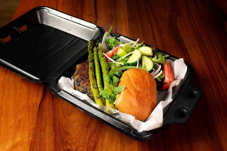 Berkeley Black Bean Burger