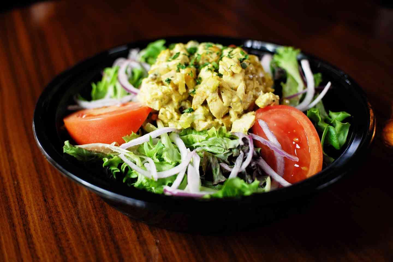 Chicken Croissant Salad