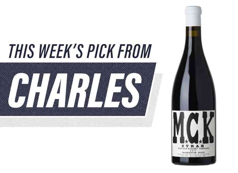 This Week's pick from Charles