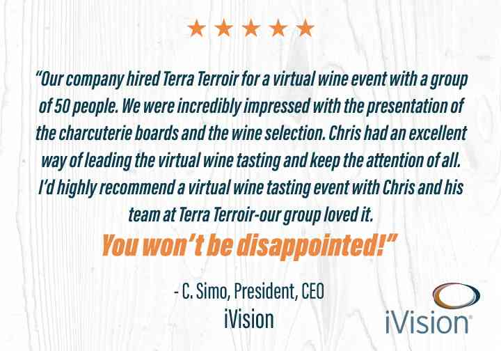 Company Virtual Wine Tastings