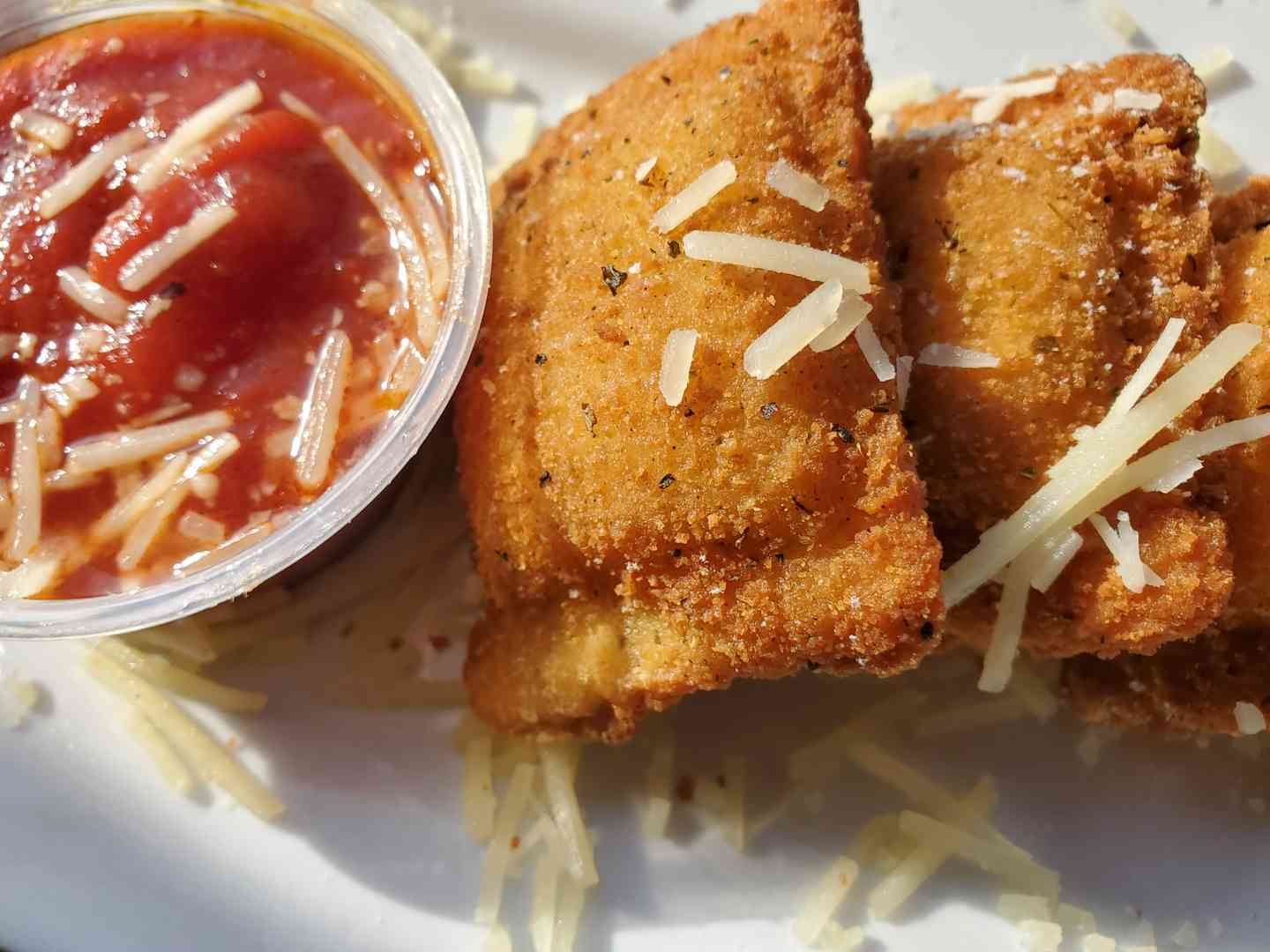 Crispy Cheese Ravioli