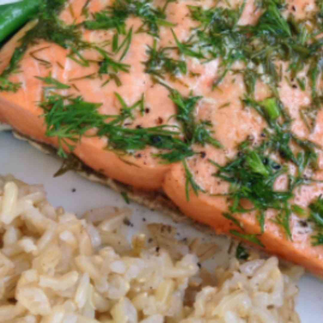 Grilled Wild Pacific Salmon