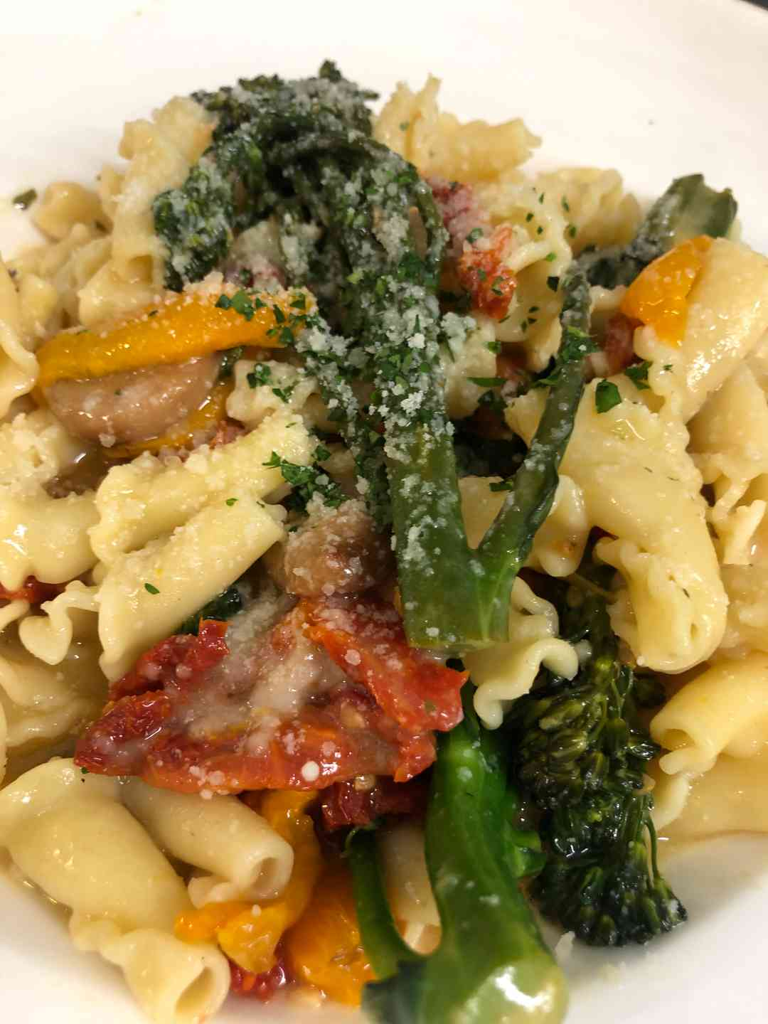 Tomato and Broccolini Campanelle