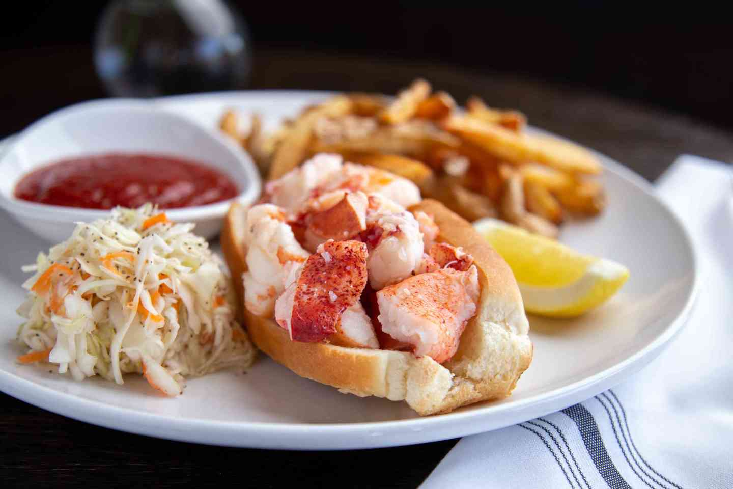 Warm New England Lobster Roll