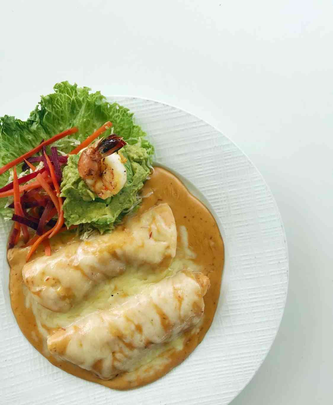 Enchiladas de Camaron