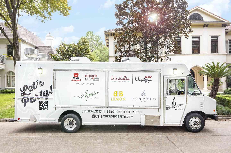 Berg Hospitality Group Food Truck Menu