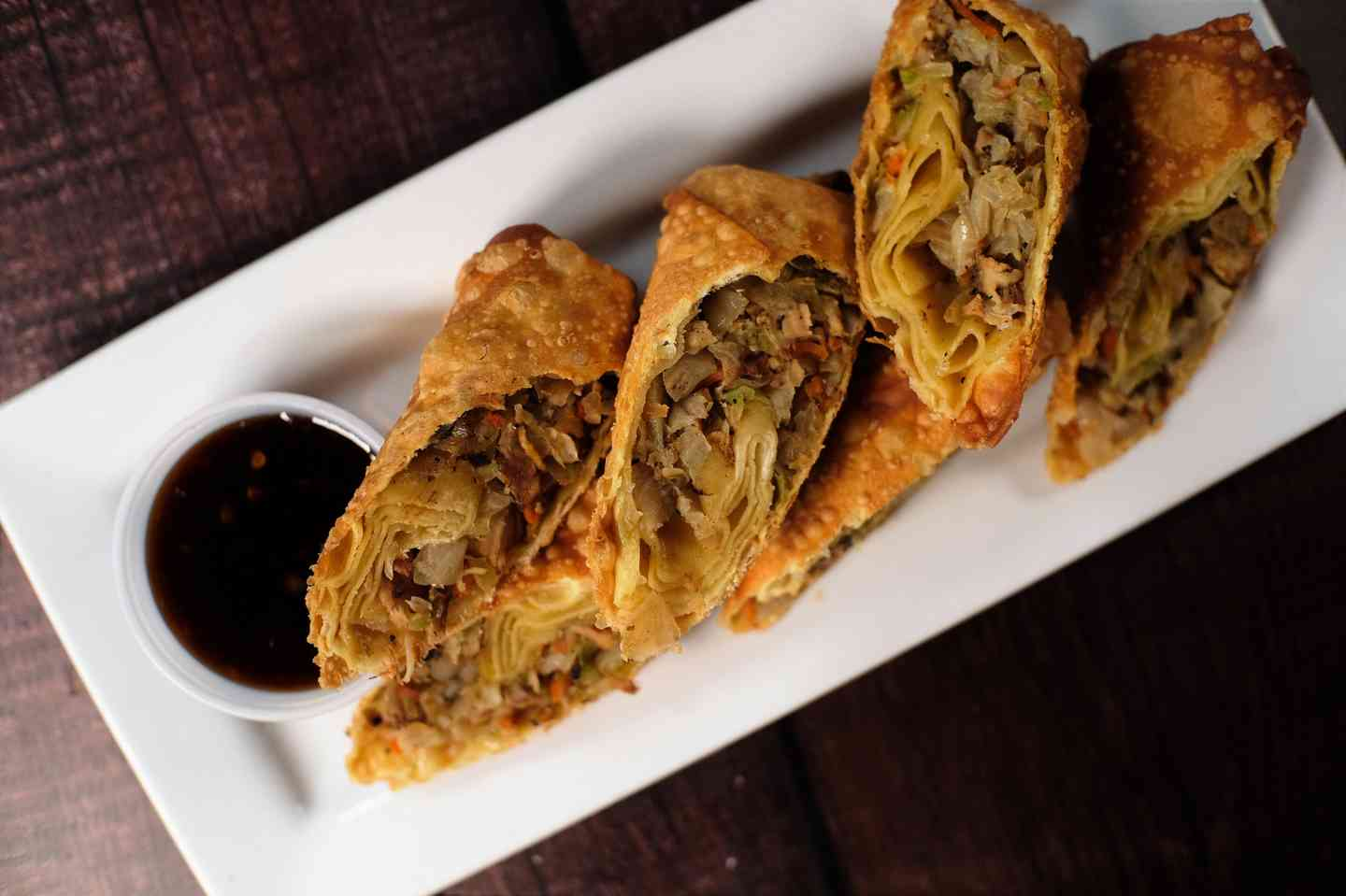 Jerk Chicken Eggrolls