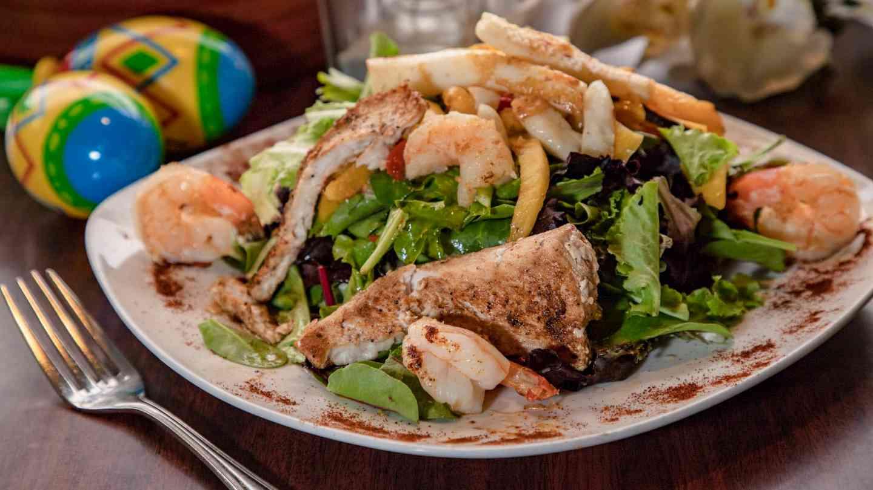 Mango Seafood Salad