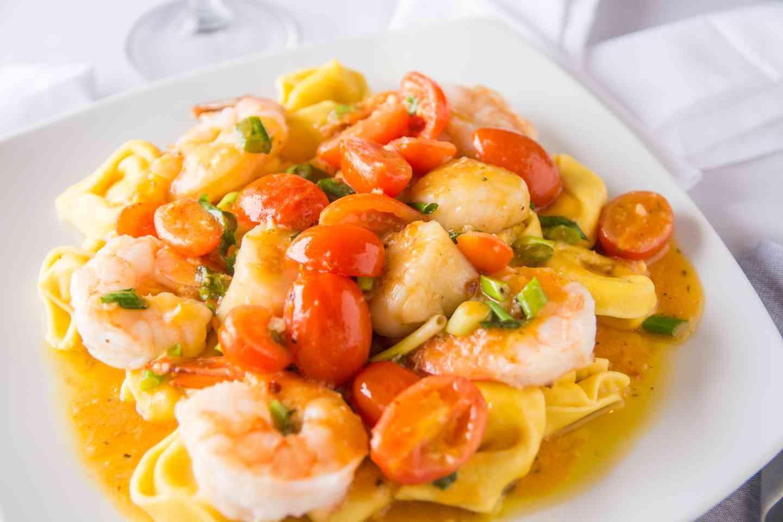 Shrimp And Scallop Tortellini