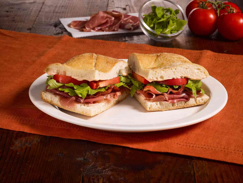 BPAT-Bacon, Prosciutto, Arugula and Tomato (CP)
