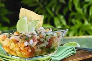 Mango Tuna Ceviche