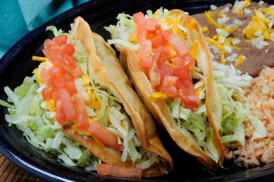 #1. Taco Plate