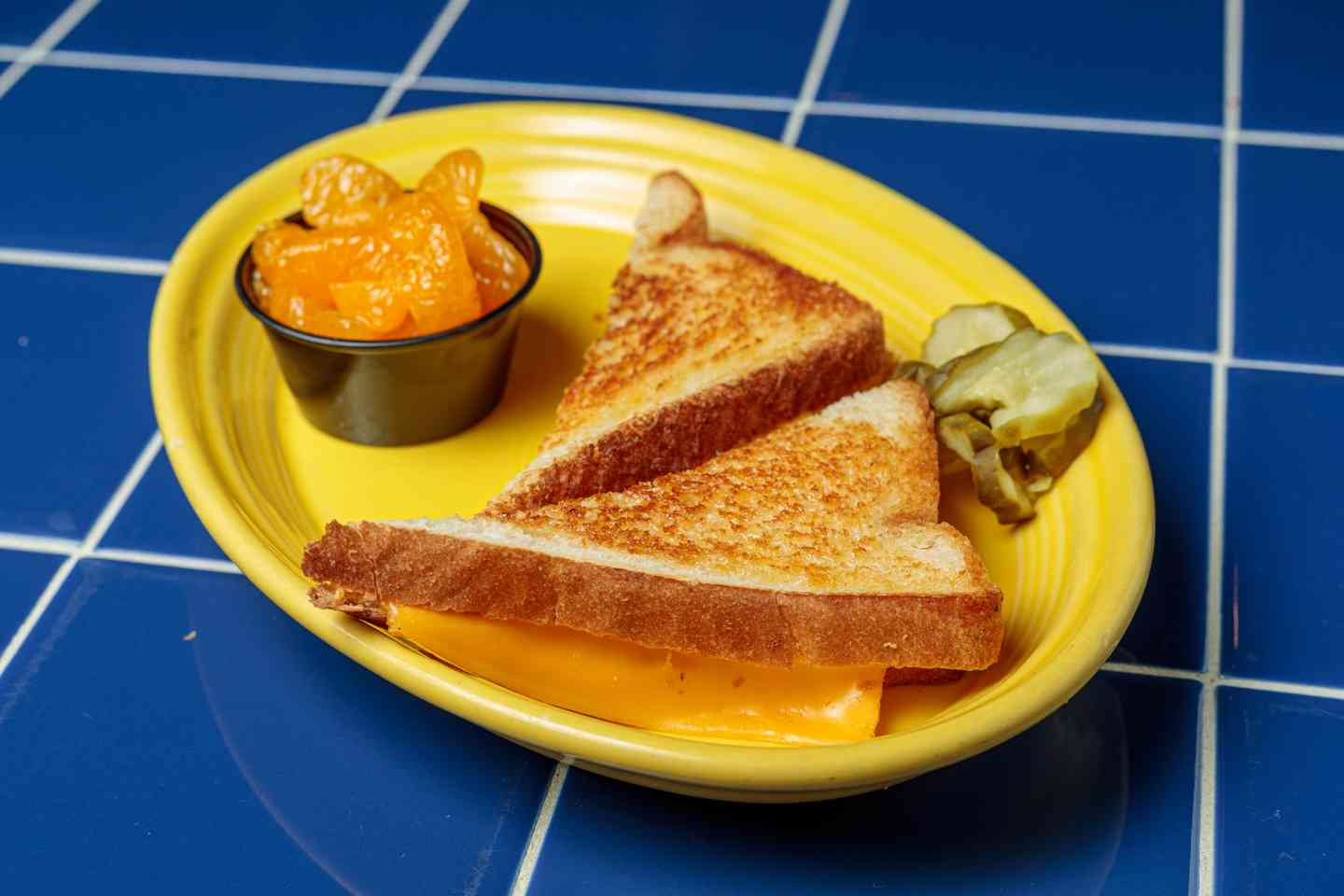 Kids' Grilled Cheese on White Bread