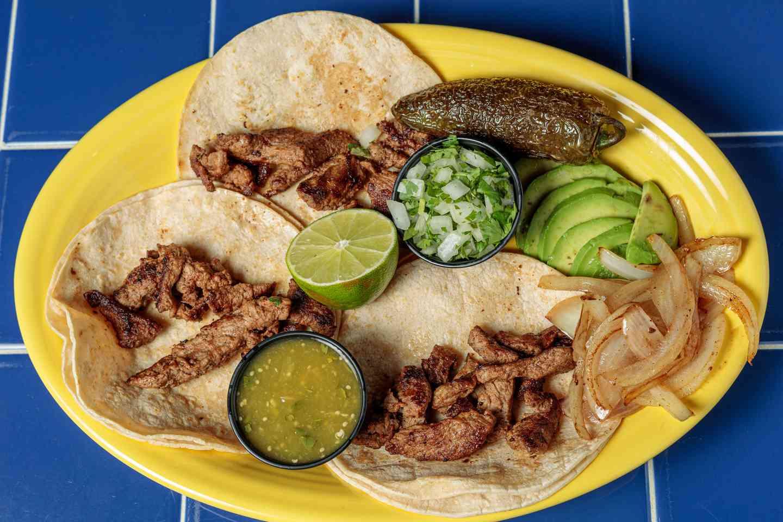 #12. Antonio's Steak Tacos