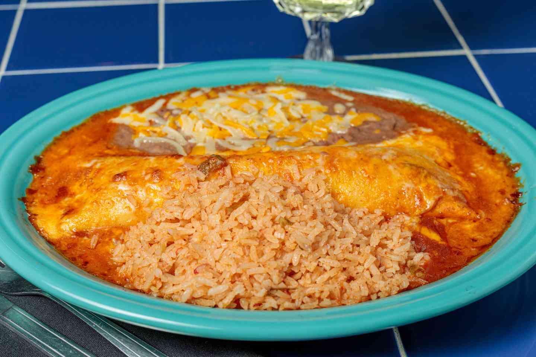 #7. One Enchilada Plate