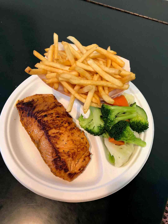 BBQ Salmon