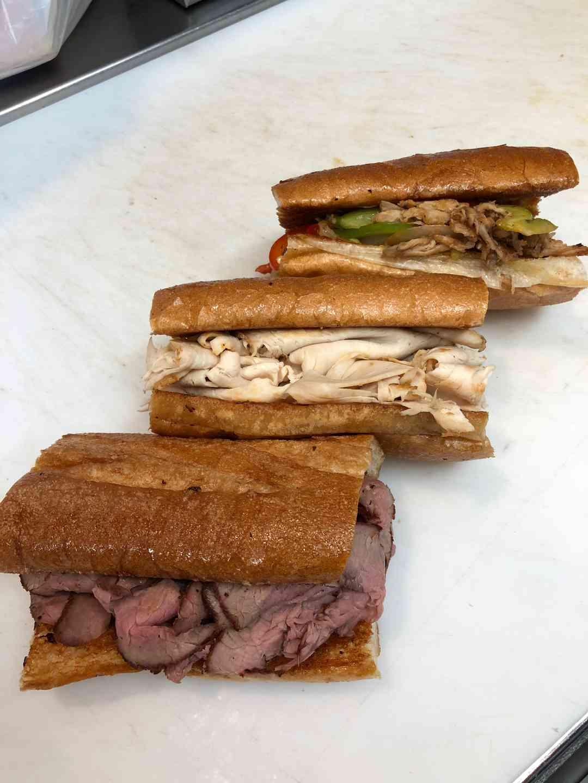 1/2 Tri-Tip Sandwich
