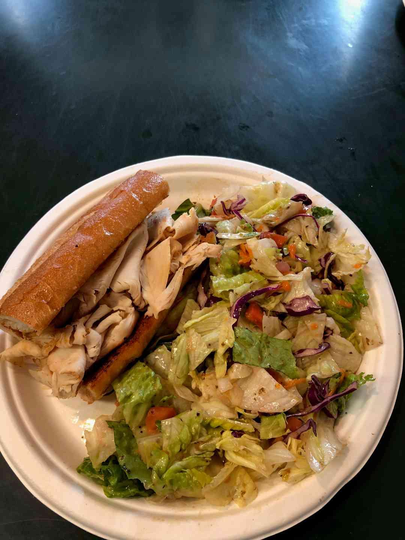1/2 Tri-Tip Sandwich & 1/2 Garden Salad