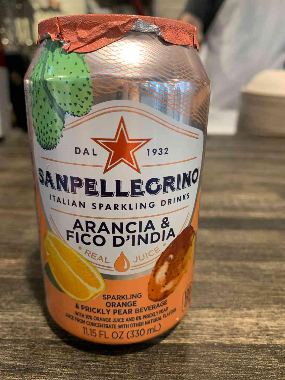 Sanpellegrino Arancia & Fico D'India
