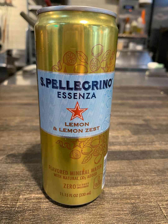 S. Pellegrino Lemon & Lemon Zest