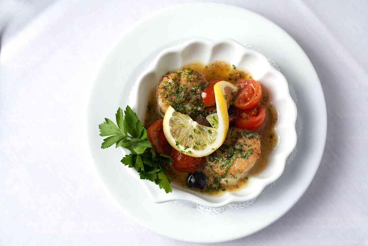 Coquilles Saint-Jacques aux Tomates et Basilic