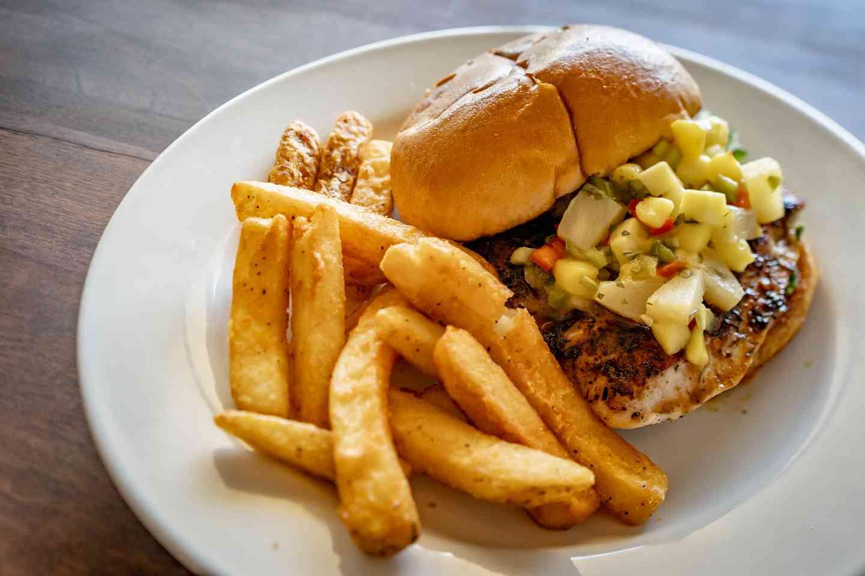Island Chicken Sandwich