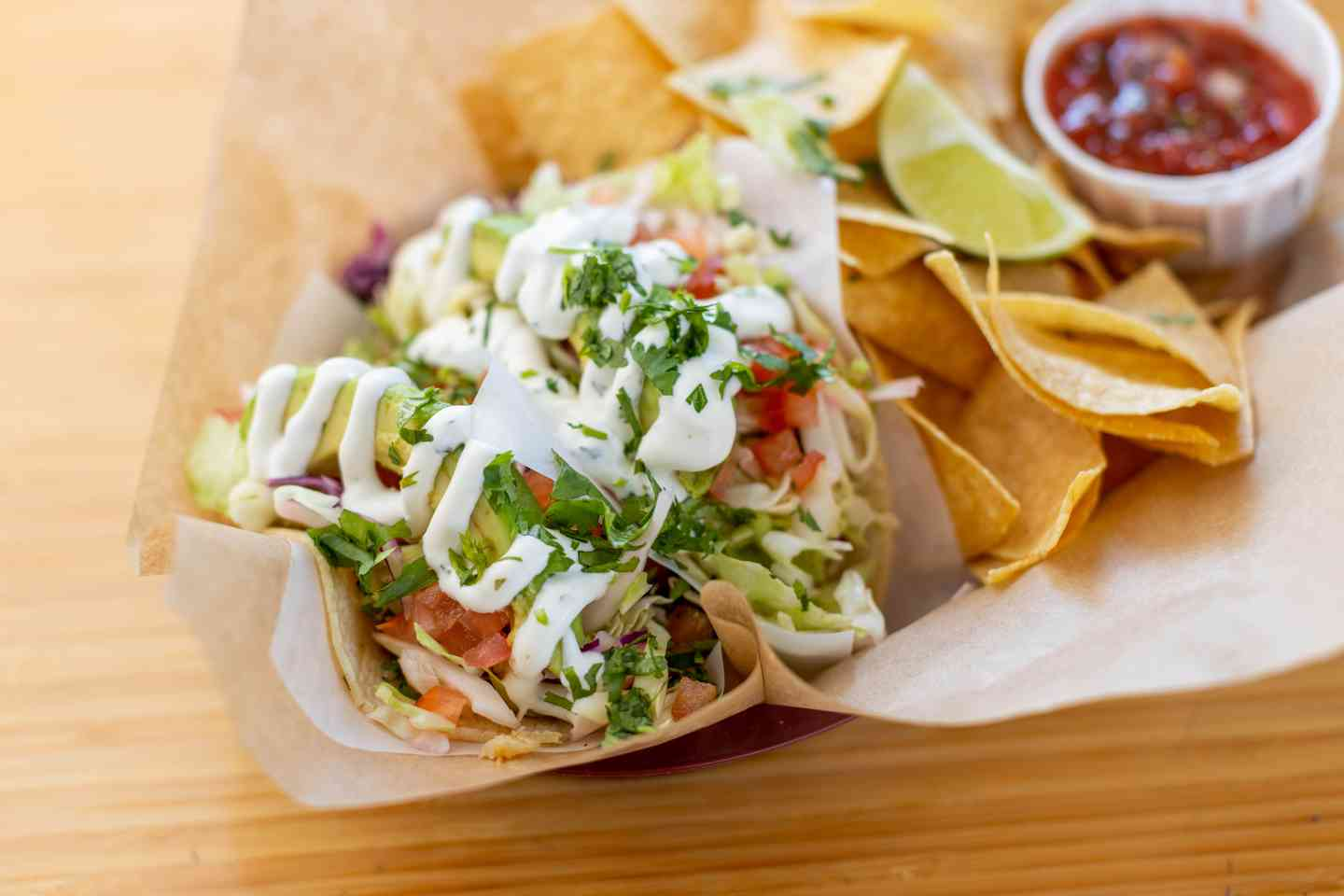 Fish Tacos (Grilled)