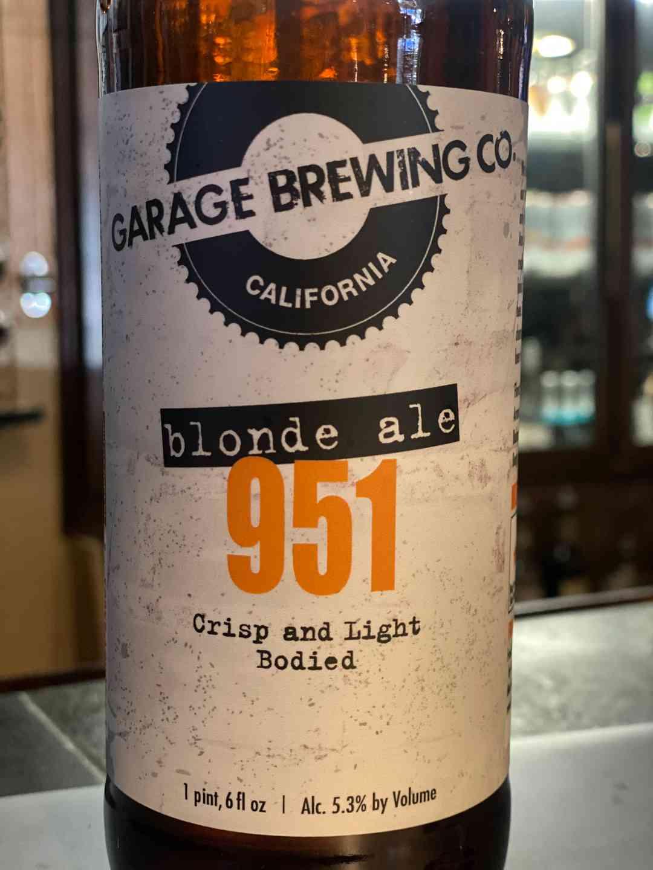 Blonde Ale 951