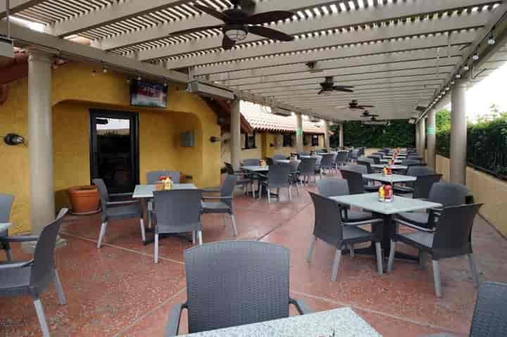 outside patio tables
