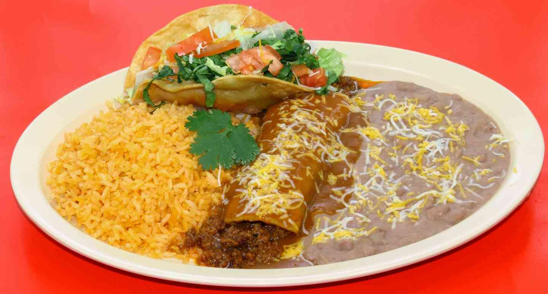 #1 One Enchilada & One Taco