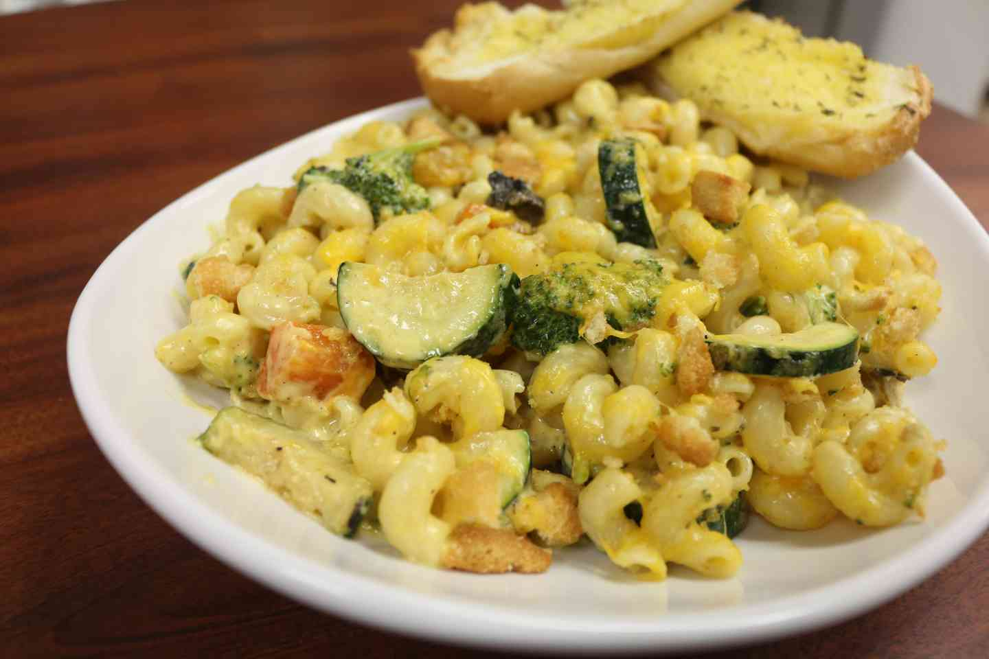 Roasted Veggie Mac