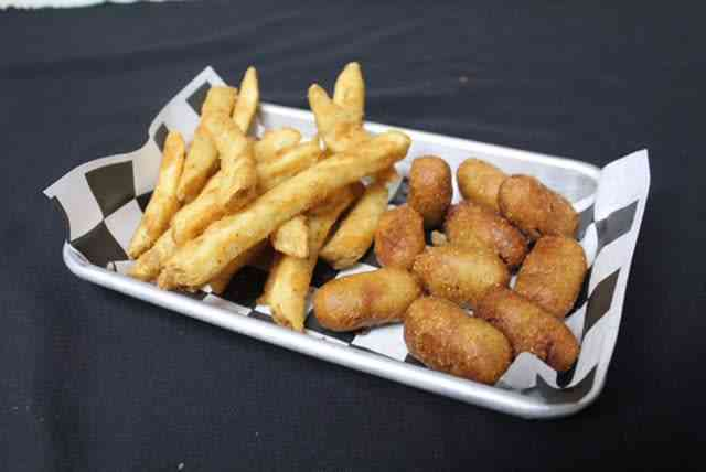 Corn Dog Bites with Side