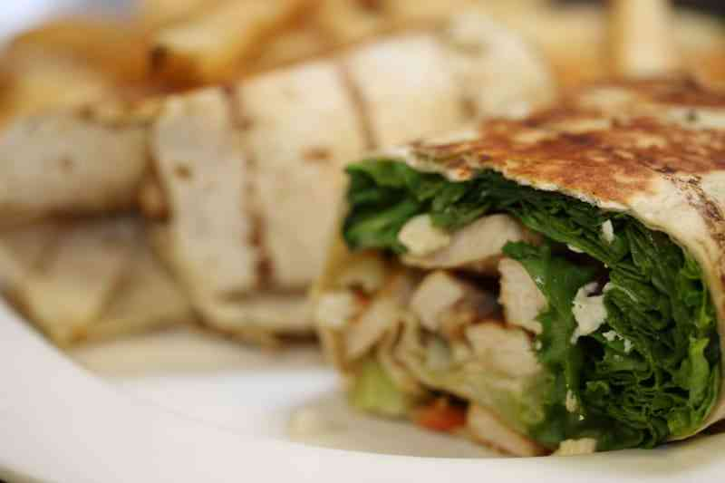 Grilled Chicken Caesar Wrap